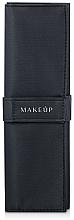 Düfte, Parfümerie und Kosmetik Make-up Etui für 13 Pinsel Basic schwarz - Makeup