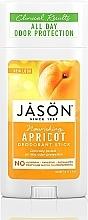 "Düfte, Parfümerie und Kosmetik Deo-Stick ""Aprikose"" - Jason Natural Cosmetics Pure Natural Deodorant Stick Apricot"