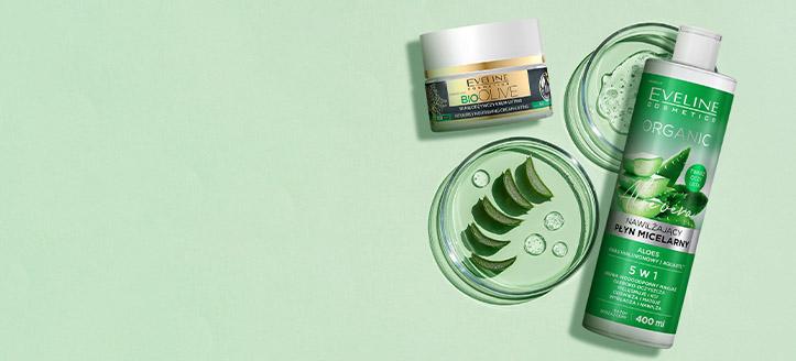 Rabatt auf die Gesichtspflege-Kosmetik von Eveline Cosmetics. Die Preise auf der Website sind inklusive Rabatt