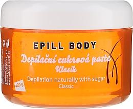 Düfte, Parfümerie und Kosmetik Natürliche Zucker-Enthaarungspaste für den Körper - Epill Body Depilation Naturally With Sugar Classic