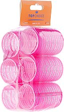 Düfte, Parfümerie und Kosmetik Klettwickler 0386 38 mm 6 St. - Top Choice Hair Roller