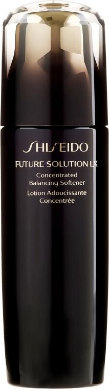Feuchtigkeitsspendende konzentrierte Gesichtslotion - Shiseido Future Solution LX Concentrated Balancing Softener — Bild N2