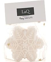 Düfte, Parfümerie und Kosmetik Handgemachte Naturseife Schneeflocke mit Duft von Weihnachtslebkuchen - LaQ Happy Soaps Christmas Gingerbread
