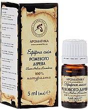 Düfte, Parfümerie und Kosmetik Ätherische Bio Rosenholzöl - Aromatika