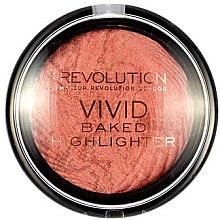 Düfte, Parfümerie und Kosmetik Highlighter - Makeup Revolution Baked Highlighter