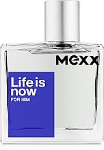 Düfte, Parfümerie und Kosmetik Mexx Life Is Now For Him - Eau de Toilette