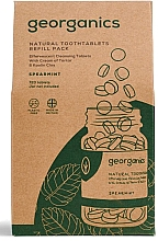 Düfte, Parfümerie und Kosmetik Mundwassertabletten mit Minze - Georganics Mouthwash Tablets Spearmint Refill Pack (Refill)