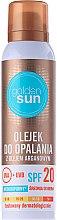 Düfte, Parfümerie und Kosmetik Bräunungsöl mit Argan SPF 20 - Golden Sun SPF 20