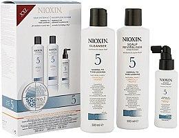 Düfte, Parfümerie und Kosmetik Haarpflegeset - Nioxin System 5 (Shampoo 300ml + Conditioner 300ml + Haarmaske 100ml)