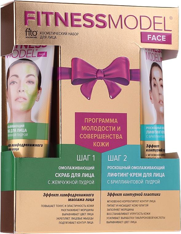 Gesichtspflegeset - Fito Kosmetik Fitness Model (Gesichtscreme 45ml + Gesichtspeeling 45ml)