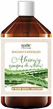 Düfte, Parfümerie und Kosmetik Feuchtigkeitsspendendes und stärkendes Shampoo mit Aloe für trockenes und stapaziertes Haar - Eco U Aloe Shampoo