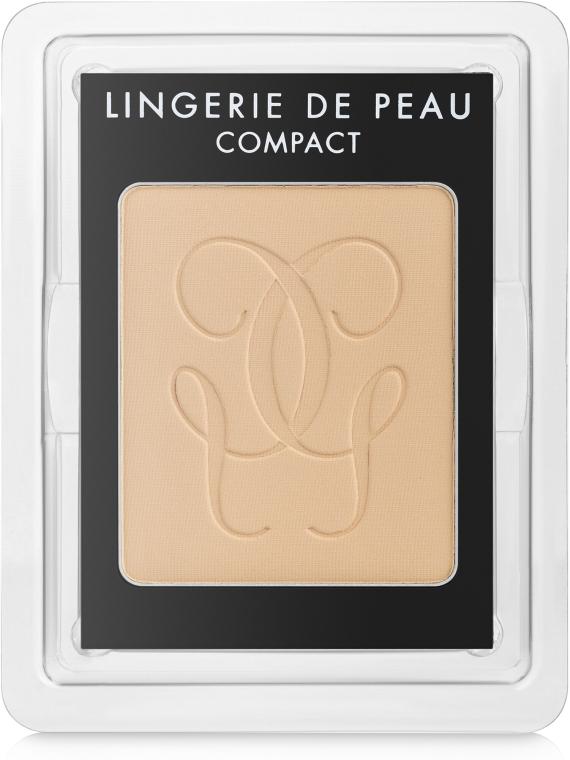 Kompaktpuder mit Siliziumdioxid (austaschbarer Pulverkern) - Guerlain Lingerie de Peau Compact Mat Alive — Bild N2