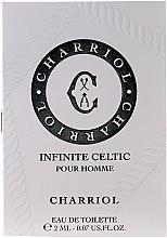 Düfte, Parfümerie und Kosmetik Charriol Infinite Celtic Pour Homme - Eau de Toilette (Probe)