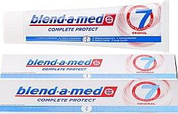 Düfte, Parfümerie und Kosmetik Zahnpasta Complete Protect Original - Blend-a-med Complete Protect 7 Original