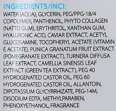 Anti-Aging Tuchmaske mit Kaviarextrakt, Granatapfel und grünem Tee - Dermo Pharma Skin Repair Expert Lifting Anti Aging Mask 4D — Bild N2