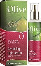 Düfte, Parfümerie und Kosmetik Reparierendes Haarserum mit Olive - Frulatte Olive Restoring Hair Serum