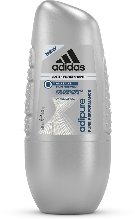 Deodorant - Adidas Roll-on Adipure Pure Perfomance