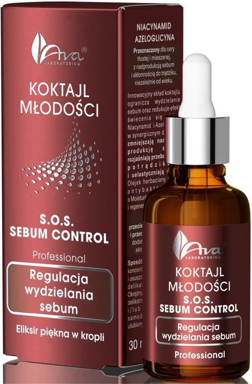 Schönheitselixier zur Regulierung der Talgsekretion - Ava Laboratorium S.O.S Sebum Control