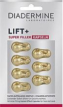 Düfte, Parfümerie und Kosmetik Glättende Falten-Auffüllungs-Kapseln für Gesicht und Hals - Diadermine Lift+ Super Filler Capsules