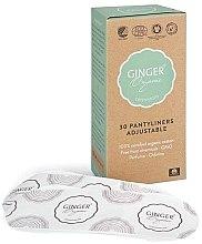 Düfte, Parfümerie und Kosmetik Slipeinlagen aus Bio-Baumwolle 30 St. - Ginger Organic