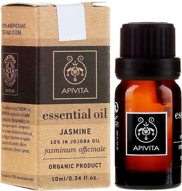 Ätherisches Öl Jasmin - Apivita Aromatherapy Organic Jasmine Oil — Bild N1