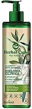 Düfte, Parfümerie und Kosmetik Pflegende Körpercreme mit Vitaminen und grünen Oliven - Farmona Herbal Care Green Olive Nourishing Body Cream