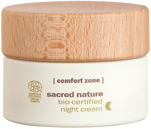 Regenerierende und verjüngende Anti-Aging Nachtcreme - Comfort Zone Sacred Nature Bio-Certified Night Cream — Bild N1