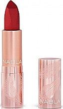 Düfte, Parfümerie und Kosmetik Matter Lippenstift - Nabla Cult Matte Soft Touch Lipstick