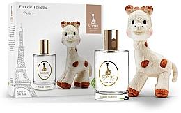 Düfte, Parfümerie und Kosmetik Parfums Sophie La Girafe Eau de Toilette - Duftset (Aromatisches Körperwasser 100ml + Spielzeug)