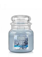 Düfte, Parfümerie und Kosmetik Duftkerze im Glas Fresh Aspen Snow - Country Candle Fresh Aspen Snow