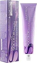 Düfte, Parfümerie und Kosmetik Creme-Haarfarbe mit 100% Grauhaarabdeckung und niedrigem Ammoniakgehalt - Matrix Dream Age Socolor Beauty