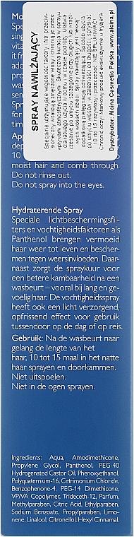 Feuchtigkeitsspendender Haarspray - Alcina Hare Care Moisture Spray — Bild N6