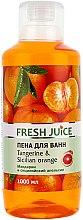 Düfte, Parfümerie und Kosmetik Badeschaum Mandarine & Sizilianische Orange - Fresh Juice Tangerine and Sicilian