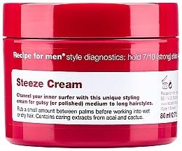 Düfte, Parfümerie und Kosmetik Haarstylingcreme für Männer Starker Halt - Recipe for Men Steeze Cream