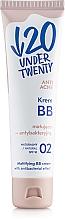 Düfte, Parfümerie und Kosmetik Antibakterielle BB Creme gegen Akne LSF 10 - Under Twenty Anti Acne Matting Cream