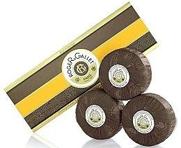 Düfte, Parfümerie und Kosmetik Seifenset Orangenbaum - Roger & Gallet Bois D'Orange Perfumed Soaps (Parfümierte Seife 3x100g )