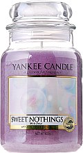 Düfte, Parfümerie und Kosmetik Duftkerze im Glas Sweet Nothings - Yankee Candle Sweet Nothings Jar