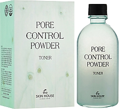 Düfte, Parfümerie und Kosmetik Porenverengendes Gesichtstonikum mit seboregulierendem Puder - The Skin House Pore Control Powder Toner