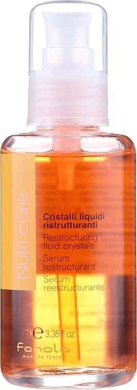Pflegendes Haarserum für trockenes Haar - Fanola Nutry Care Restructuring Fluid
