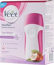 Düfte, Parfümerie und Kosmetik Elektrisches Warmwachs-Roll-On-System für alle Hauttypen - Veet Easy Wax Electrical Roll On Kit