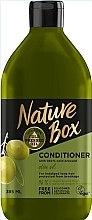 Düfte, Parfümerie und Kosmetik Conditioner mit 100% natürlichem kaltgepressten Olivenöl für lange Haare - Nature Box Conditioner Olive Oil