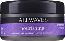 Düfte, Parfümerie und Kosmetik Pflegende Maske für gefärbtes Haar mit Ringelblumen- und Erdbeerextrakt - Allwaves Blueberry And Calendula Nourishing Mask