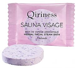 Düfte, Parfümerie und Kosmetik Aromatische Dampfbadtablette für Gesicht mit Kräutern - Qiriness Sauna Visage