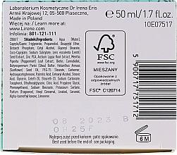 Seboregulierende, mattierende und antibakterielle Gesichtscreme für fettige und Mischhaut - Lirene Cannabis Garden Mint & CBD — Bild N3