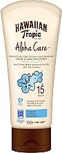 Düfte, Parfümerie und Kosmetik Mattierende Sonnenschutzlotion für den Körper SPF 15 - Hawaiian Tropic Aloha Care Protective Sun Lotion Mattifies Skin SPF 15