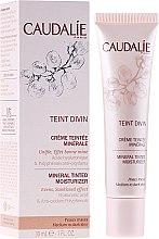 Düfte, Parfümerie und Kosmetik Feuchtigkeitsspendende Tönungscreme für dunkle Haut mit Mineralien - Caudalie Teint Divin Mineral Tinted Moisturizer