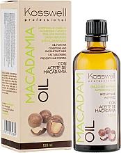 Düfte, Parfümerie und Kosmetik Pflegendes und revitalisierendes Anti-Frizz Haaröl mit Macadamia- und Arganöl - Kosswell Professional Macadamia Oil