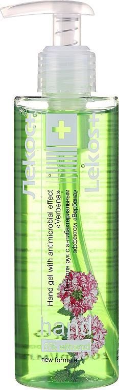 Antibakterielles Handgel mit Teebaum - Markell Cosmetics Lekos+