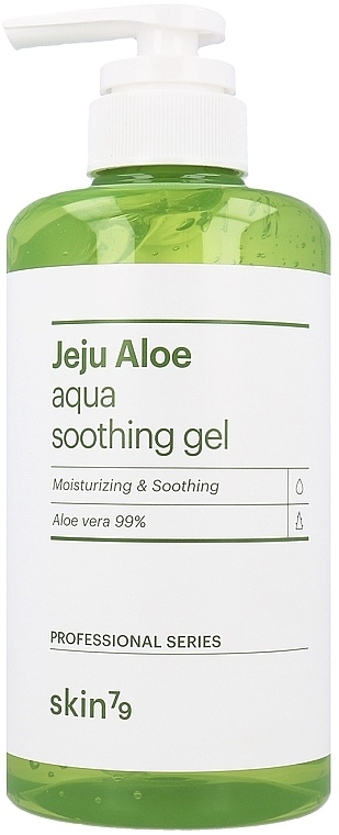 Beruhigendes Haar-, Körper- und Gesichtsgel mit Aloe Vera - Skin79 Jeju Aloe Aqua Soothing Gel