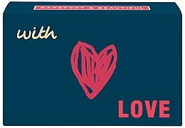 Düfte, Parfümerie und Kosmetik Natürliche Seife With Love mit rotem Beerenduft - Bath House With Love Red Berry Hand Soap